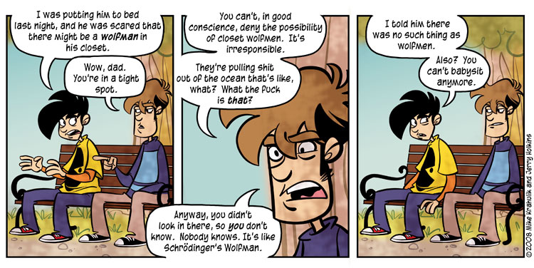 The Ongoing Saga - Penny-Arcade.com Strip from yesterday